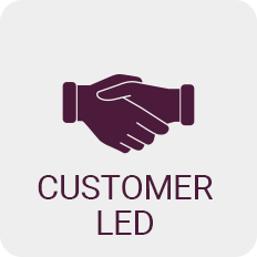 Customer Led