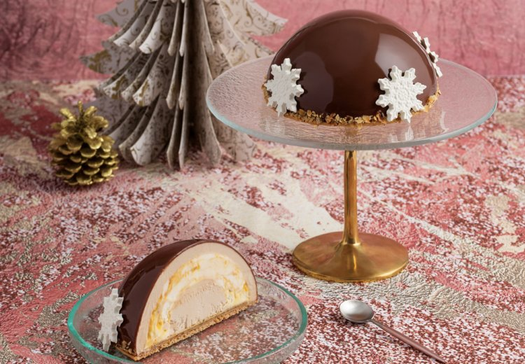 our mouth-watering iced entremet